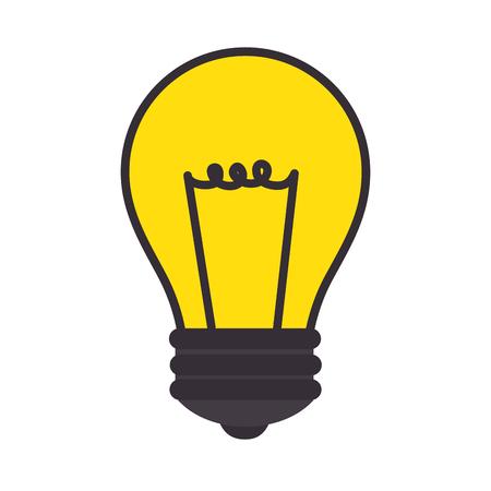 Bulb light energy icon vector illustration graphic design