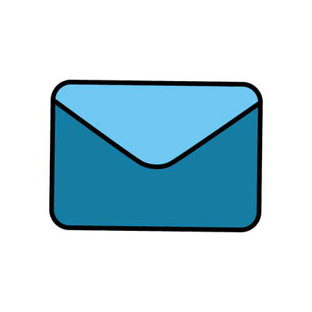 Email or mail symbol icon vector illustration graphic design Фото со стока