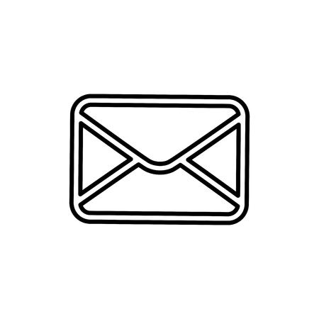 이메일 또는 메일 기호 아이콘 벡터 일러스트 그래픽 디자인 스톡 콘텐츠 - 77979579