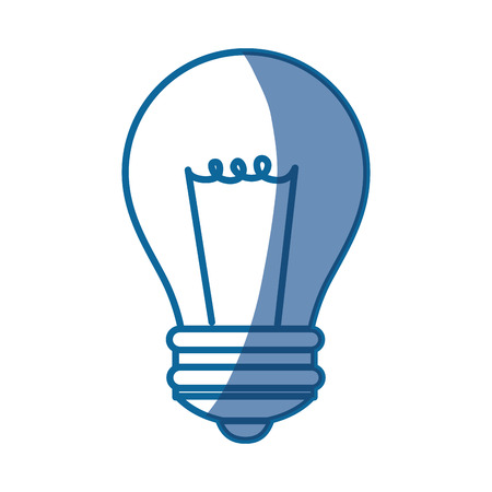 Bulb light energy icon vector illustration graphic design