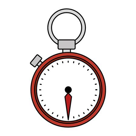 chronometer device isolated icon vector illustration design