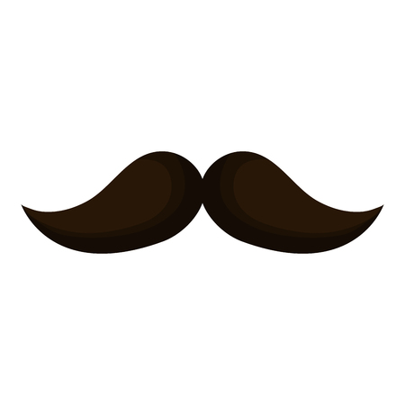 comedy: mustache mexican isolated icon vector illustration design