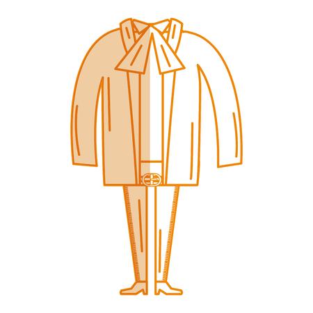 Mexican mariachi costume icon vector illustration design