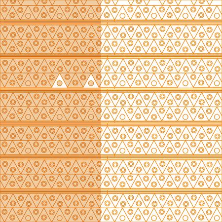 メキシコ パターン背景アイコン ベクトル イラスト デザイン
