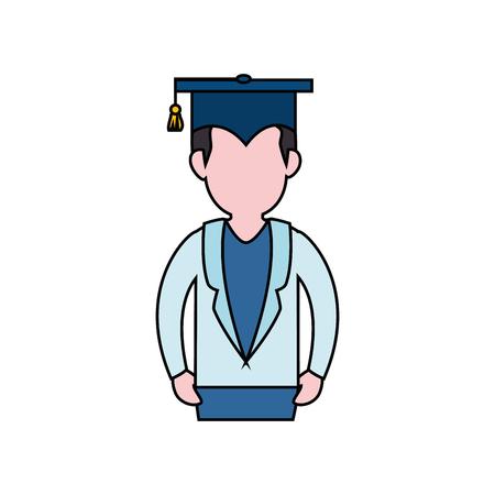 science class: Graduation hat symbol