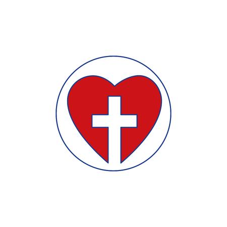 Christelijk kruis symbool