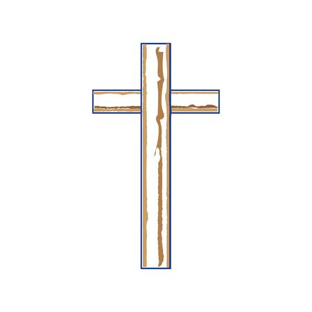 Cruz cristiana símbolo Foto de archivo - 78060826