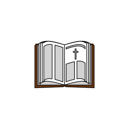 Biblia santa abierto Foto de archivo - 78060847
