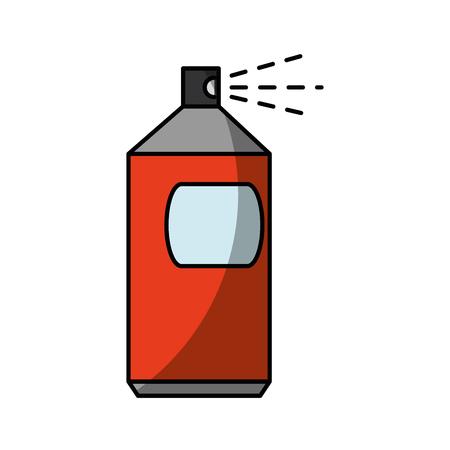 白い背景上のスプレー ボトル アイコン。ベクトル図  イラスト・ベクター素材