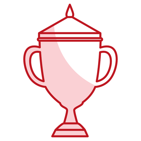 award winning: trophy cup isolated icon vector illustration design Illustration
