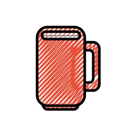 マグカップ磁器カップ アイコン ベクトル イラスト グラフィック デザイン