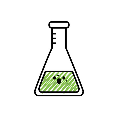化学フラスコ ガラス アイコン ベクトル イラスト グラフィック デザイン