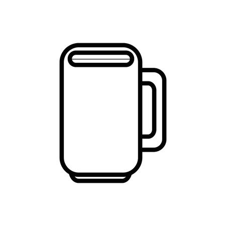 Mug porcelain cup icon vector illustration graphic design
