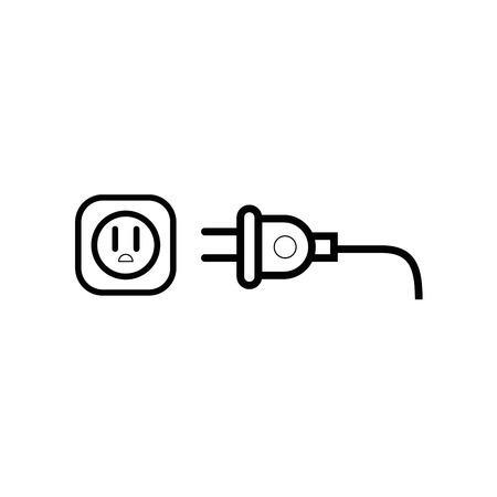 Electric plug symbol icon vector illustration graphic design 版權商用圖片 - 78187647