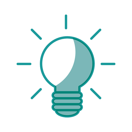 Big idea bulb symbol icon vector illustration graphic design Illustration