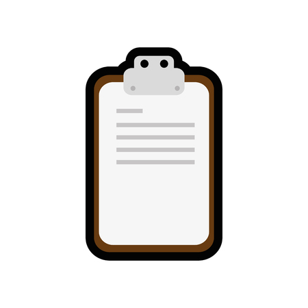 Tableau de table icône sur fond blanc. illustration vectorielle Banque d'images - 78178321