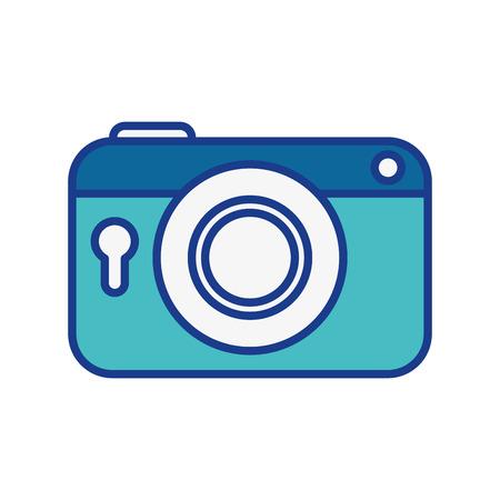 Vintage photographic camera icon vector illustration graphic design
