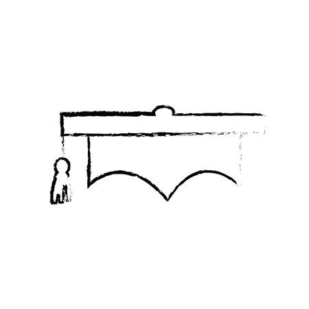 Chapeau de graduation icône de symbole illustration vectorielle design graphique Banque d'images - 78178536