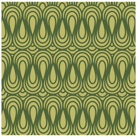 green background with  irregular shapes. vector illustration design