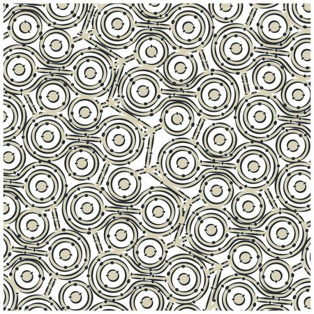 background with  irregular shapes. vector illustration design