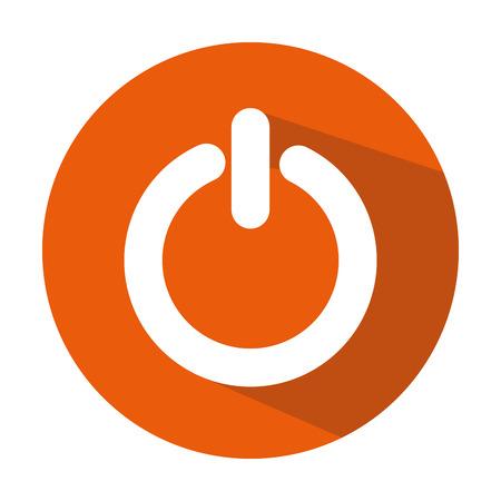 power switch button icon vector illustration design Фото со стока - 78187182