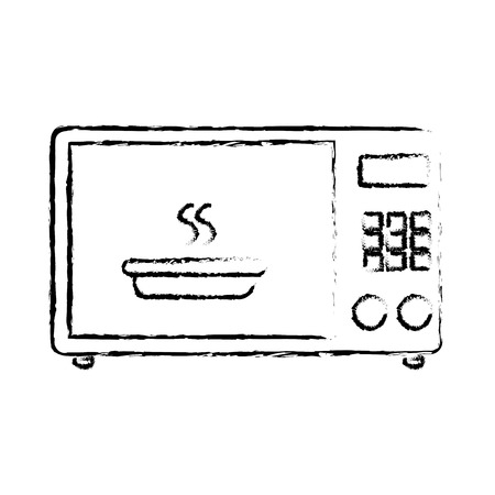 oven microwave isolated icon vector illustration design