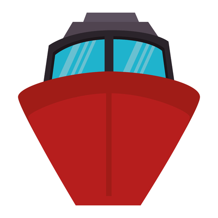 ship cruise isolated icon vector illustration design 向量圖像
