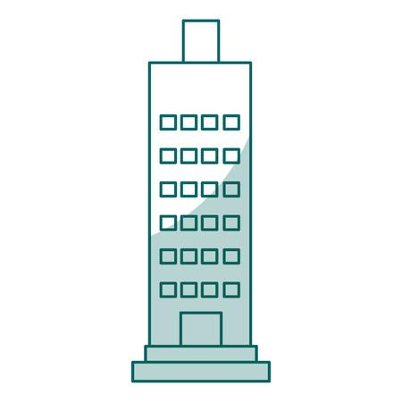 building exterior isolated icon vector illustration design Çizim