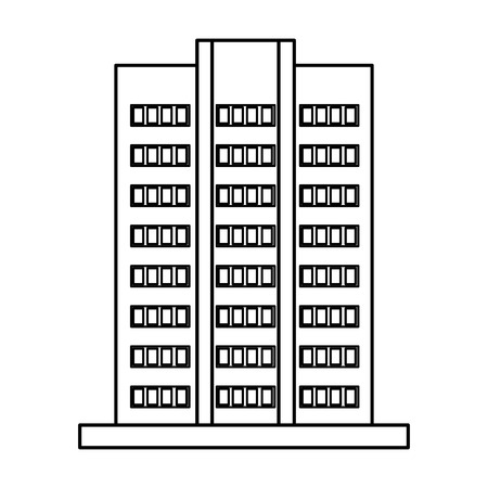 building exterior isolated icon vector illustration design Stok Fotoğraf