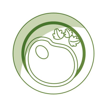 おいしい健康料理ベクトル イラスト グラフィック デザイン