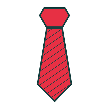 isolated fashion tie vector illustration graphic design