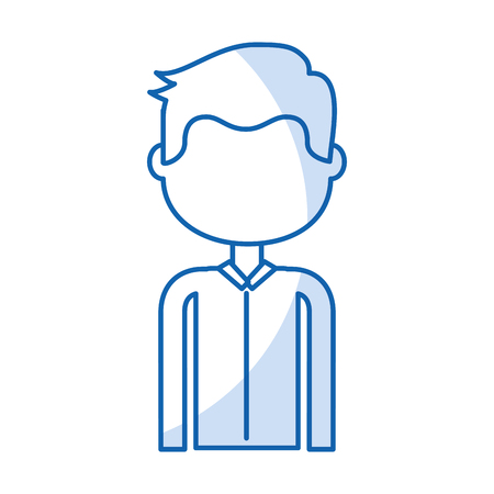 isolated handsome icon boy vector illustration graphic illustration Illustration