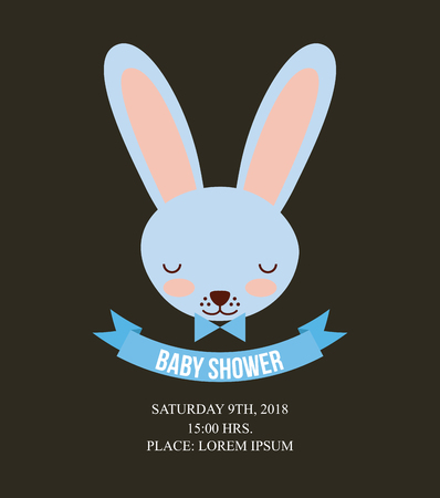 baby shower related icons image vector illustration design Illustration