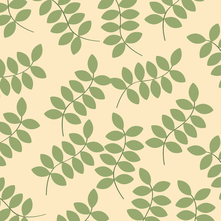 green plants background image vector illustration design
