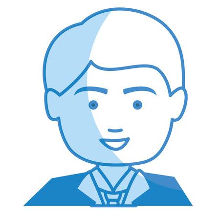 businessman worker isolated icon vector illustration design Ilustração