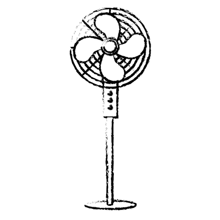electric fan isolated icon vector illustration design Illustration