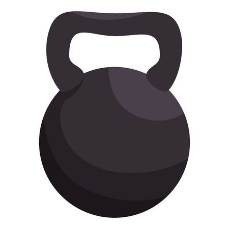 gym equipment: weight lifting equipment icon vector illustration design