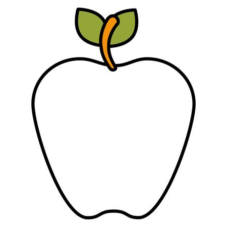 apple fruit isolated icon vector illustration design