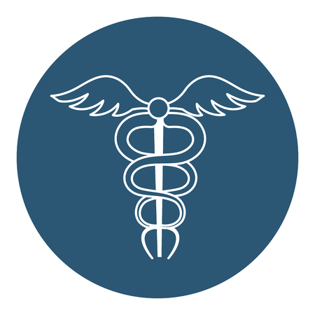 pharmacy symbol isolated icon vector illustration design Ilustração
