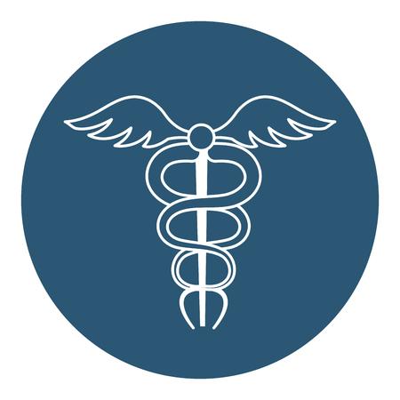 pharmacy symbol isolated icon vector illustration design Illustration