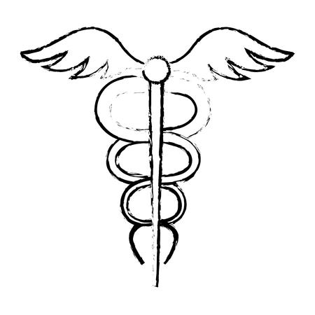 medical technology: pharmacy symbol isolated icon vector illustration design Illustration