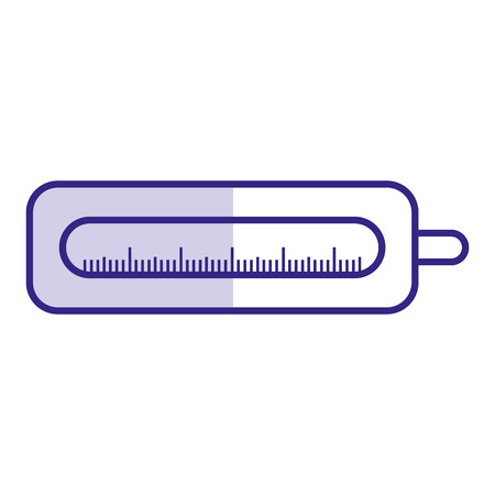 medical thermometer isolated icon vector illustration design Illustration
