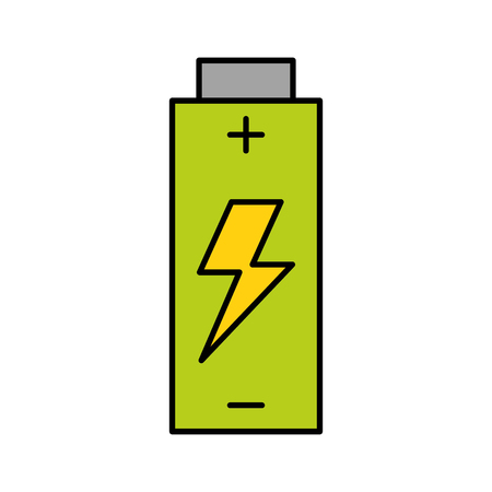 Battery energy isolated Icon design vector illustration