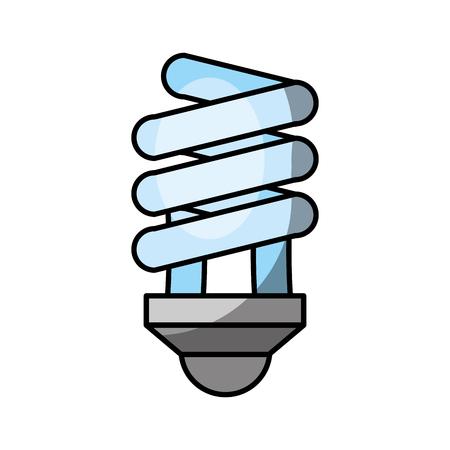 経済電球アイコン ベクトル イラスト デザイン