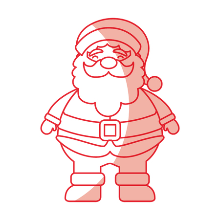 christmas santa claus icon vector illustration graphic design