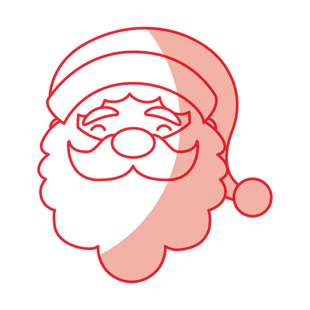 christmas santa claus icon vector illustration graphic design