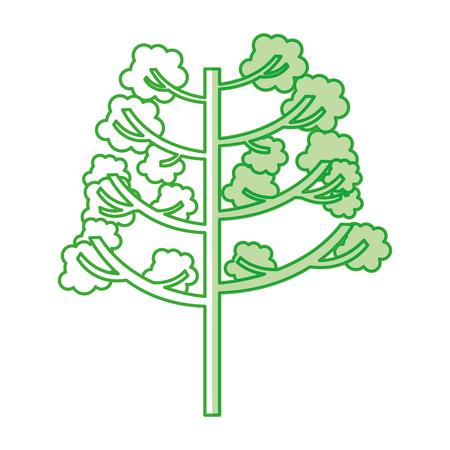 tree plant autumn icon vector illustration design Stok Fotoğraf - 78519576