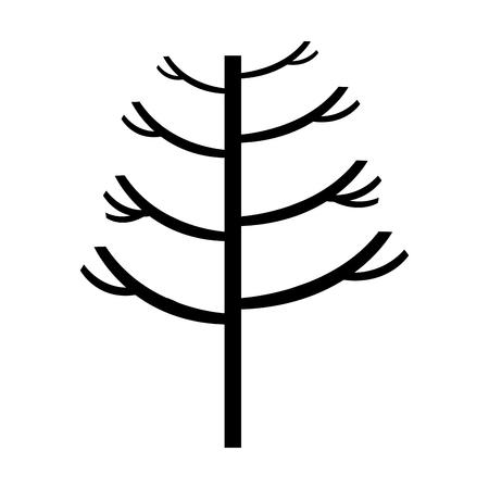 tree plant autumn icon vector illustration design Stok Fotoğraf - 78519581
