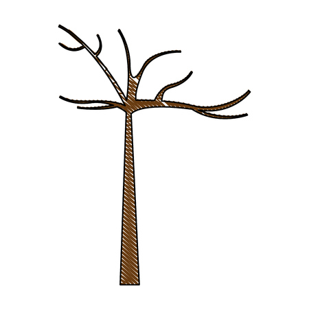 tree plant autumn icon vector illustration design Reklamní fotografie - 78517458