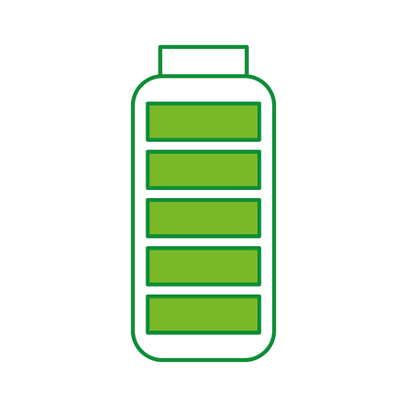 battery supply isolated icon vector illustration design